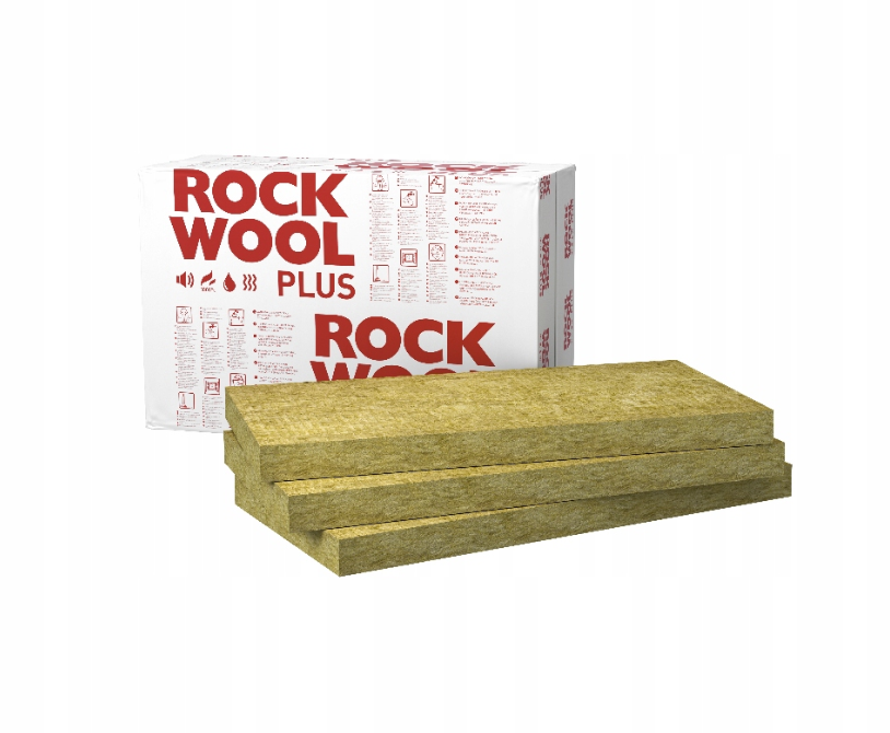 Wełna Skalna Rockwool ROCKMIN PLUS 50mm