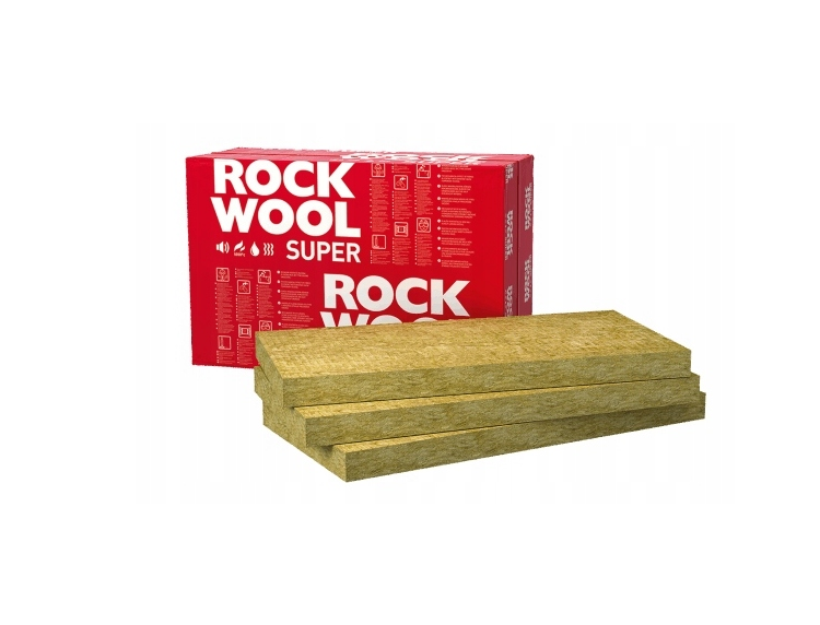 Wełna Skalna Rockwool SUPERROCK 100 mm